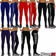 Women's Sports Gym Leggings Yoga Jogging Running Pants Trousers Activewear