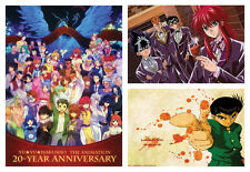 Yu Yu Hakusho Ghost Files POSTER ART PRINT 3 OPTIONS A4 A3 BUY 2 GET 3RD FREE
