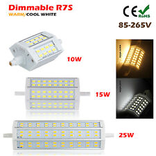 Dimmable 10W/15W/25W R7S LED 5730 SMD Flood Light 78mm/118mm/189mm J118 Bombilla