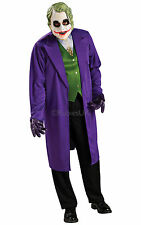 MENS JOKER BATMAN THE DARK KNIGHT SUPERHERO FANCY DRESS COSTUME OUTFIT 888631
