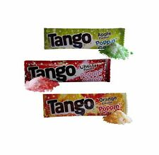 PACKETS OF TANGO POPPING CANDY APPLE CHERRY ORANGE PARTY BAG FILLER SWEET