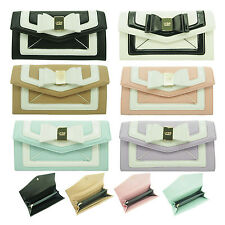 Designer Inspired LYDC Bow Faux Leather Ladies Purse Wallet Boxed