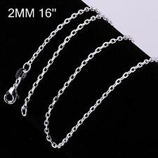 Fashion Beautiful Jewelry 925 Sterling Silver Plated Snake Chain Necklace