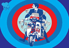 QUADROPHENIA MODS PUNKS THE WHO QMPT01 Giant WALL Poster A1,A2,A3,A4