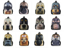 3D Animal Small Backpack Baby Toddle Kids Outdoor Kindergarten Shouders Bag