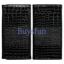 Crocodile Style Purse Leather Wallet Case Cover For Samsung Galaxy