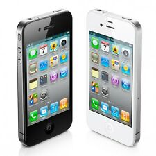 Apple iPhone 4 Smartphone White or Black iCloud Locked for Parts or Unlock