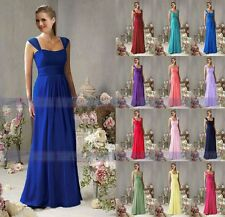 Cheap New Arrival Chiffon Bridesmaid Dresses Floor Length Formal Evening dress