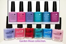 CND Shellac gel polish GARDEN MUSE colection & vinylux  GARDEN MUSE  collection