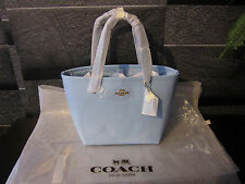 Coach Mini Street Tote in Crossgrain Leather F34871