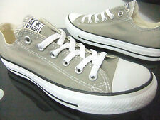 ADULTS CONVERSE CT OX OLD SILVER GREY ALL STAR TRAINERS CHUCK TAYLOR UK 6- 12