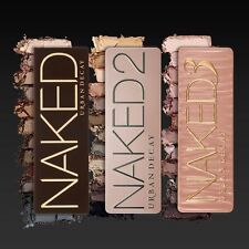 NAKED PALETTE 1 2 3 URBAN DECAY EYE SHADOW MAKEUP KIT PROFESSIONAL BOX
