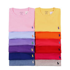 NWT Polo Ralph Lauren Men's Crew Neck Short Sleeve Tee Shirt S M L XL