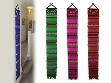 Authentic Thai Tung Hanging Wall Decoration Woven Cotton Thailand New Handmade