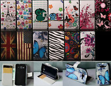 Wallet Card Holder Leather Case Samsung Galaxy Core Prime Prevail LTE G360P G360