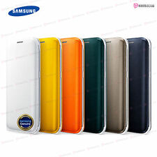 Genuine Official Samsung Galaxy S6  Edge Flip Wallet Cover Case EF-WG925B [ PU ]