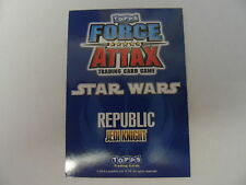 Star Wars Force Attax Cards - Series 1 - Star Card Buy 1 get 1 FREE