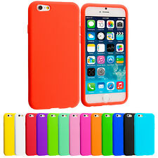 For Apple iPhone 6 (4.7) Silicone Case Rubber Soft Skin Cover Accessory