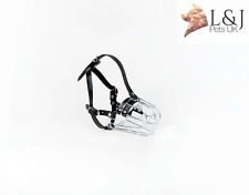 New Metal STRONG Wire Basket Dog Muzzle for Poodle 3 & 3+ and other dogs
