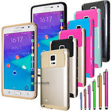 Gold Heavy Duty Best Impact Hard Case Cover For Samsung Galaxy Note Edge N9150