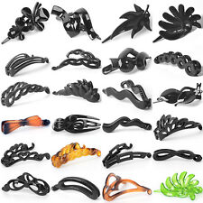 new girl lady women hair accessory hair comb clip slide clamp claw grip plastic