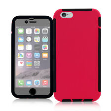 Hybrid Dual Layer Heavy Duty Case Built-in Screen Protector For iPhone 6