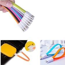 22CM Magnet Flat Short 5Pin Micro USB Data Charger Cable Cord For Samsung HTC LC