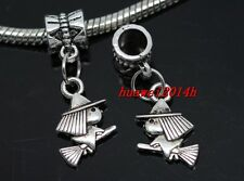 6/30/100pcs Tibetan Silver Tibetan Silver miko Bulk Lots Dangle Charms DIY