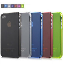 Hot Transparent Ultra Slim 0.3mm Hard Back Case Cover Skin For Apple iPhone 4 4S