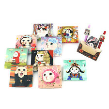1x Cute Jetoy Kitty Standing Memo Pad Message Notes Writing Paper Desk Decor
