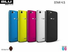 Blu Star 4.5 Design Edition S451U 5.0MP Android Dual Sim Unlocked GSM Phone New