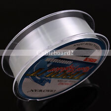 50M 4.4-35.2LB Fluorocarbon Fishing Line Material From Japan Transparent Sinking