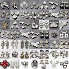 36 Style Tibet Silver Plated Spacer DIY Craft Pendant Charm Jewelry Findings