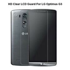 1x 2x 4x Lot New Front LCD Clear Screen Protector Film Guard For LG Optimus G3