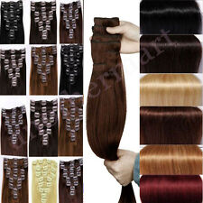 Premium 100% Real Cheap Price Clip In Remy Human Hair Extensions Full Head R153