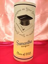 5 Personalized Graduation Luminaries Table Centerpieces Decorations Party