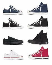CONVERSE Chuck Taylor All Star Low Hi Top Shoes Toddler Kids Canvas Sneakers