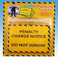 Joke Fake Yellow Parking Tickets Fine Penalty Do Not Ignore Funny Stag Novelty