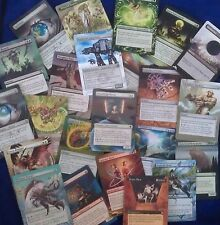 Hand Painted Custom Altered Magic the Gathering MTG Trading Cards Lands Part 1