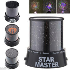 Lovers/Cupid/Moon/Star Romatic Cosmos Projector LED Lamp Starry Night Light nt