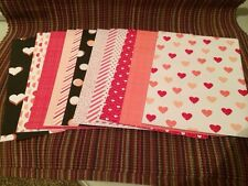 Stampin Up Card Fronts Stacked With Love Valentine 12 Pc. DSP Paper Stacks *