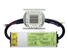 50W Infrared IR 850NM 940NM 730NM High Power LED+50W DC15-20V Waterproof Driver