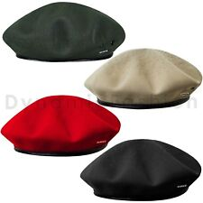 Mens Classic KANGOL Tropic Monty Military Beret Sizes S M L XL 0284KG