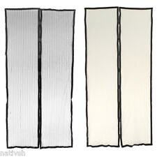 Mesh Magnetic Screen Door Curtain Anti-Mosquito/Bug/Fly Insect Hands-free 2Color
