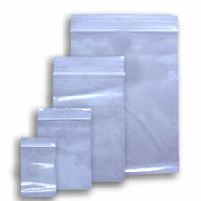 Resealable Poly Ziplock Bags Various Sizes & Quantities FDA & USDA Approved NEW
