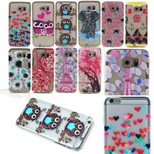 Various Patterns Silicone Soft TPU Back Case Cover For Samsung iPhone LG Sony
