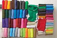 Bulk Lot of 50 or 25 Color  Plain Blank T-Shirt Solid Wholesale Small-XL Unisex