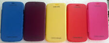 Leather Colour Flip Cover Case for Samsung Galaxy Star Pro S7262/s7260-flip 7262