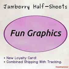 Jamberry Half-Sheet -- Graphic Punch designs -- FREE SHIPPING w/ TRACKING
