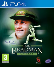 Don Bradman Cricket PS4 - PlayStation 4 Game BRAND NEW SEALED FREE POST UK PAL